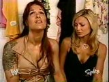 WWE Lita & Stacy Backstage video