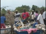 USS Carter Hall Delivers Equipment to Haiti for Rebuilding E
