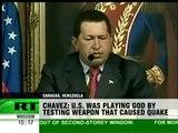 Chavez accuse les USA d'avoir provoqué le séisme d'Haïti à l'aide d'armes nouvelles