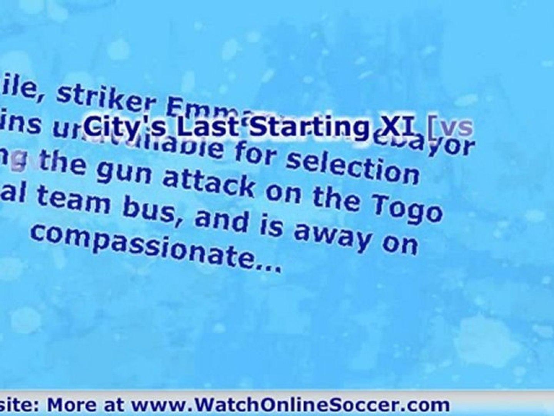 Manchester City vs Manchester United English Premier League