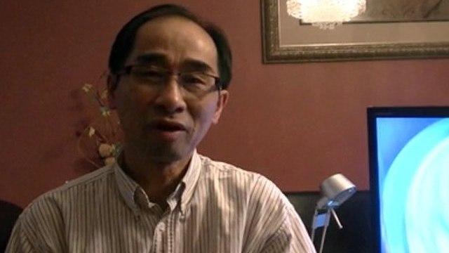 Gioi Thieu phan phong van ca si Huong Thuy va Quang Le