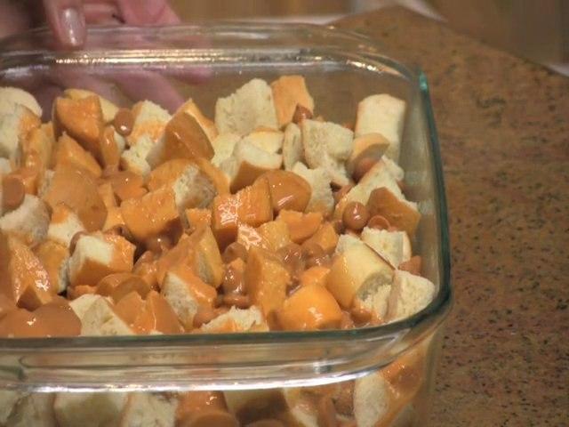 Butterscotch Pecan Bread Pudding