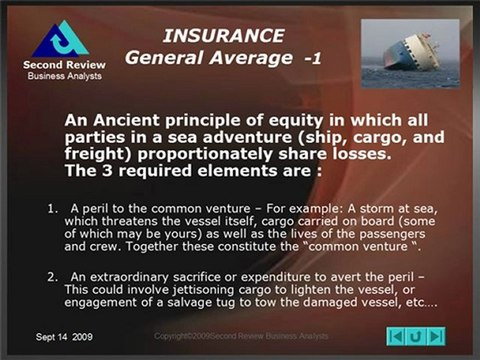 The basics of Cargo Insurance and Claims
