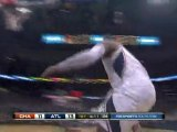 Josh Smith steals the pass and finishes with a huge slam.