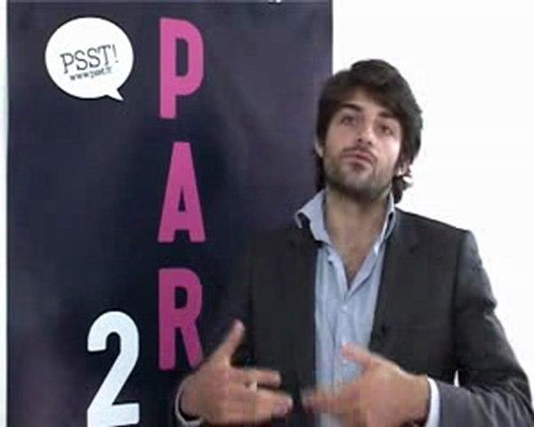 PSST TV : Gilles Poupardin-Fondateur de Sencities-PARIS 2.0