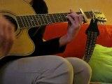 Bobo -Cowboys fringants- Guitare