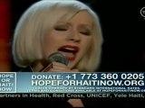 67th Golden Globes 2010 + Haïti + CHANSON LIFT ME UP & SPOTLIGHT