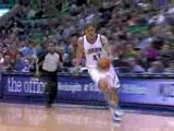 Andrei Kirilenko steals the pass and finishes with a slam du