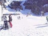 régis et chris en snowboard
