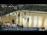 Mondeville s'incline contre Bourges(Basketball LFB)