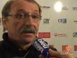 Interviews d'avant match USAP CSBJ