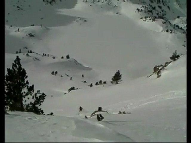 Raid à skis Encantats