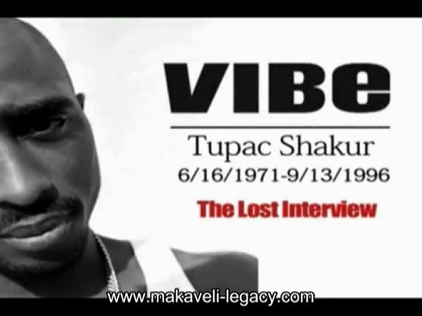 2pac Tupac Shakur - The Lost Interview part.1 [VOSTFR]