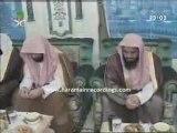 Les imams de la mecque avec le roi d'arabie saoudite