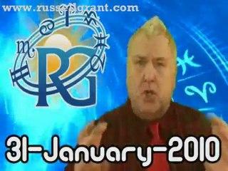 RussellGrant.com Video Horoscope Leo January Sunday 31st