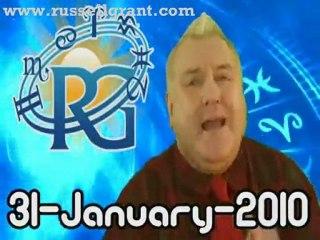 RussellGrant.com Video Horoscope Cancer January Sunday 31st