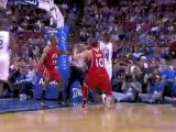 Jameer Nelson assists Dwight Howard with a perfect lob for t
