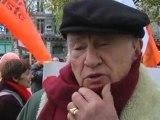 7-8-9-nov-2009 Marche Mondiale. Paris. Passage des Marcheurs