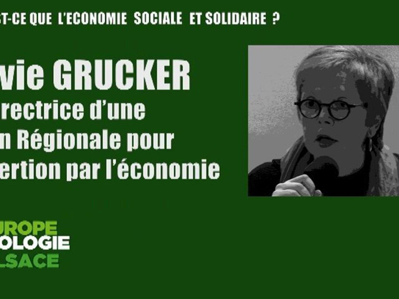 TRANSFORMER L'ECONOMIE : Sylvie GRUCKER