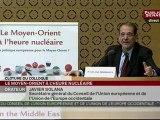 SEANCE,Clôture du colloque sur la situation au Moyen-Orient par Bernard Kouchner