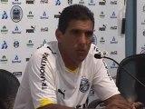 Coletiva de Silas na Grêmio TV - 02 de fevereiro de 2009