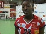 HBC Nîmes-Le Havre: Mariama SIGNATE réagit(Handball F D1)