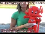 PERSONALIZED STUFFED DEVIL HOT STUFF VALENTINE BigPlush.com