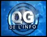 Le QG de l'info generique BFM-TV 4/02/2010