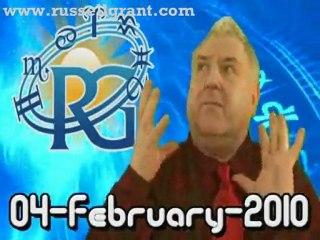 RussellGrant.com Video Horoscope Gemini February Thursday 4t