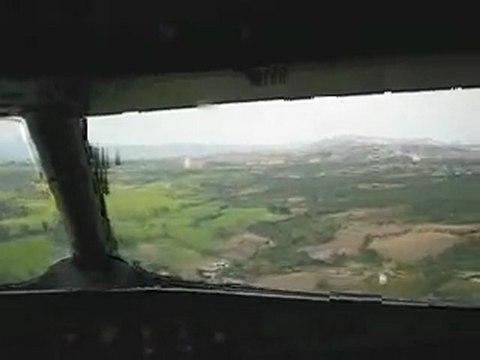 THY Uçağı'nın Sinop Havaalanı'na inişi