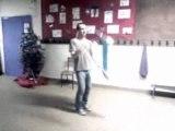 Jongleur-juggler-Shady Lejongleur (entrainement aux masues).