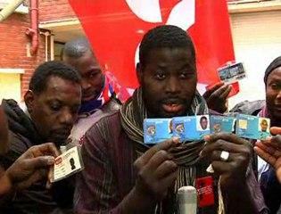 Avec les grévistes sans-papiers de la rue du Regard