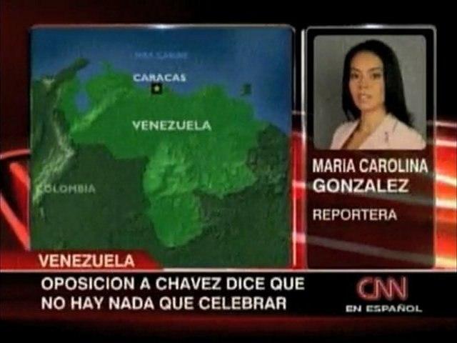 Reporte CNN Situacion en Plaza Venezuela
