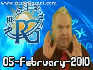 RussellGrant.com Video Horoscope Virgo February Friday 5th