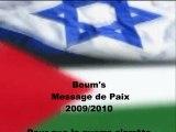 Message de paix ( Israël Palestine )