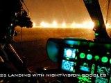 Vol de nuit d'un hélicoptère EC-145 des FAG (Gendarmerie)