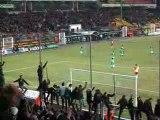But de Rivière (91') contre Monaco Kop Sud Green Angels ASSE