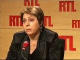 Bernadette Groison de FSU sur RTL (08/02/10)