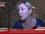 Régionales 2010 : Marine Le Pen dépose la liste FN (Nord)