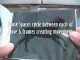 Illusions d'optiques animées (explications)