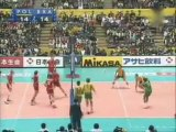 Michał Bąkiewicz w finale Mistrzostw Świata w Japonii 2006