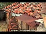 les maisons anciennes du village d'aït aicha