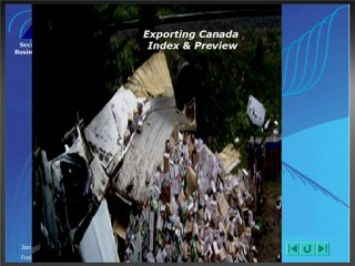 Exporting Canada Index and Preview
