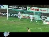 Angers bat Ajaccio (Football D2)