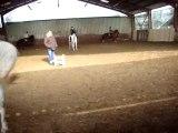 cours d'équitation de sylvie au centre équestre de bozouls