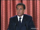 Discours d'investiture du Président de la République
