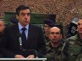 Fillon aux soldats français en Afghanistan
