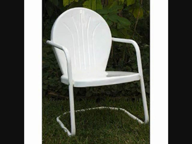 Retro metal lawn chairs 1950s Halloween Costumes Don't Have