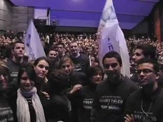 Les Jeunes UMP clés de voûte du meeting de Toulon