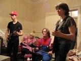 Soirée pendaison crémaillère Band Hero/Guitar Hero.Vidéo 2.